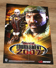 Unreal Tournament 3 2007 promo posters 59x42cm xbox 360 ps3