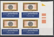 FRANCOBOLLI -004 REPUBBLICA POSTA PRIORITARIA € 0,60 IN QUARTINA Z/9604