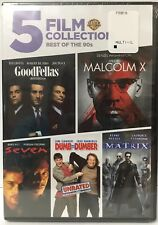 Best of the 90s (Dvd Goodfellas, Matrix, Seven, Malcolm X, Dumb and Dumber
