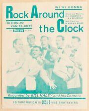 B Haley We're Gonna Rock Around the Clock Editions Bens Ik hou zo van be-bop