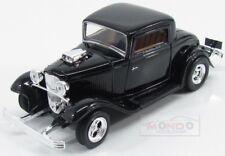 Ford Usa Coupe Custom 1932 Black MotorMax 1:24 MTM73251BK