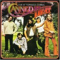 "CANNED HEAT ""LIVE AT TOPANGA CORAL"" CD NEUWARE!!!!!!!!!"