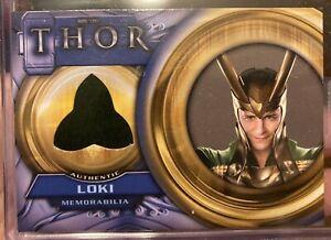 Thor - Loki Costume Card Authentic Memorabilia F4 Tom Hiddleston Upper Deck