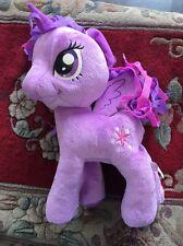 "My Little Pony Twilight Sparkle Plush Pegasus Purple 12"" Stuffed Hasbro 2013 MLP"
