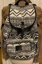 Victorias Secret PINK Backpack Aztec Black & White Sequin Backpack