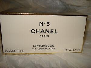 CHANEL No 5  the loose  bath powder 5.11 OZ  SEALED BOX