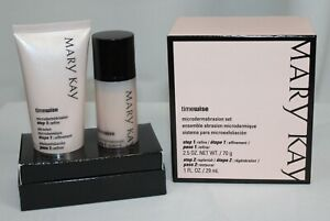 Mary Kay Timewise Microdermabrasion Set 2 Step New NOS Authentic
