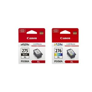 Canon PG-275XL Black Ink Cartridge and CL-276XL Color Ink Cartridge