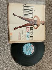"Jayne Busts Up Las Vegas Record lp original vinyl 4"" taped seam top Mansfield"