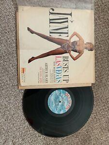 "Jayne Busts Up Las Vegas Record lp original vinyl 4"" taped seam top Mansfield"