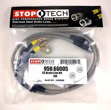 STOPTECH STAINLESS STEEL BRAIDED FRONT BRAKE LINES FOR 07-14 GMC SIERRA 2500 HD