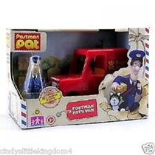 Postman Pat Mini Van Push Along Vehicle With Accessories Toy Playset Age 3+