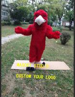 Halloween Red Eagle Mascot Falcon Hawk Costume Anime Theme Fancy Dress Carnival