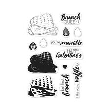 Hero Arts Poly Clear Cling Stamps Color Layering Waffles