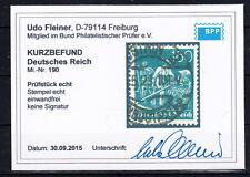 Postfrische Briefmarken aus dem deutschen Reich (1933-1945) mit BPP-Fotobefund