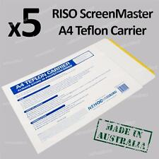 Teflon Carrier x5 for RISO ScreenMaster Mesh in Thermal-Copier