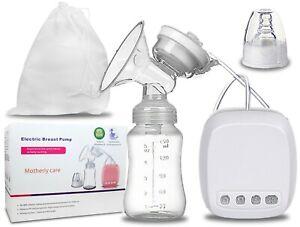 Elektrische MILCHPUMPE Brustpumpe Babymilch Abpumpen Stillen Massage BPA 0%