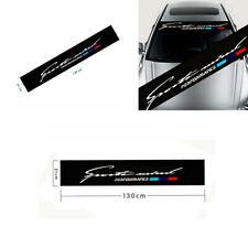 Stylish Car Sunshade Windscreen windshield Sticker For BMW M 1 2 3 5 7 X Series