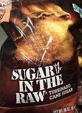 SUGAR IN THE RAW - Turbinado Cane Sugar - 6 POUND BAG -NON GMO  - New & Fresh!