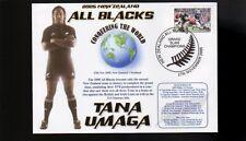 Tana Umaga Nz All Blacks 2005 Grandslam Champions Cv