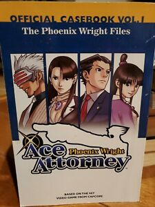 Phoenix Wright Ace Attorney Official Casebook Vol I Delray manga free shipping