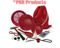 089723999327 Fisher Metal Detector Gold Prospecting Hard Rock Pro Kit Item GOLDK