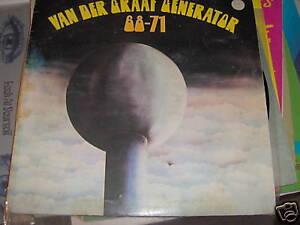 VAN DER GRAAF GENERATOR LP 68-71 ITALY CHARISMA