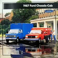 1987 Ford Chassis-Cab new vehicle brochure