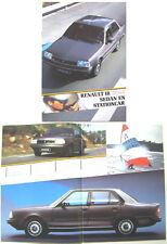 Renault 18 Mark 2 Saloon 1984 Dutch Market Brochure