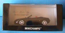 ALFA ROMEO SPIDER 3.2 V6 24V 2004 BLACK MINICHAMPS 400120331 1/43 ROADSTER NOIR