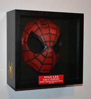 SPIDER-MAN Original Signed STAN LEE AUTOGRAPH Mask, Frame, UACC, COA, Plaque