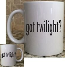 Ceramic Coffee Tea Mug Cup11oz White got twilight? funny Great Gift New