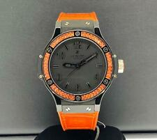 Hublot Big Bang Tutti Frutti Orange 38mm Black Ceramic Case 361.CO.1110.LR.1906