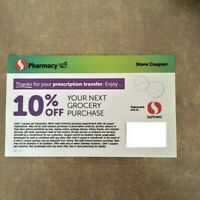 Safeway Store Coupon 10% Off Grocery Purchase  * NO LIMIT * *  NO EXPIRATION *