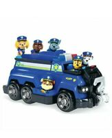 Chase Police Cruiser Total Team Rescue Paw Patrol 6 Figures Real Working Parts