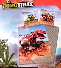 Dinotrux Dinosaurier Trucks T-Rux Repto Bettwäsche Kinder Kinderbettwäsche Dino
