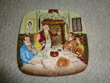 Royal Doulton group John Beswick collectors wall plate Christmas in England Ltd.