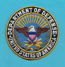 C1 * DOD DEFENSE FED POLICE PATCH AGENCY PROTECTION SERVICE WASHINGTON DC NORFOL