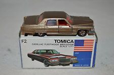 Tomica Dandy No F2 Cadillac Fleetwood Brougham scale 1/77 very near mint in box