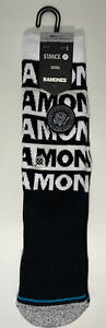 Stance x The Ramones Socks Album Punk Rock Large Men's 9-13 Music Legends