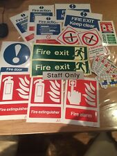 Various / Bundle Fire Safety Signs