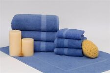 Wholesale Lot of 5 doz Porcelain Blue Bath Towels ~ Dependability by 1888 Mills