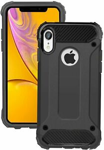 Hybrid Armour Case iPhone 12 11 Pro MAX X XS XR 7 8 6 6S Plus 5S SE Back Cover