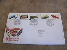 2003 First Day Cover / FDC - Transport delights - Kids Tin Toys
