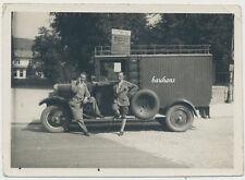 Foto d'epoca-Auto-Transporter-Camion (2382)