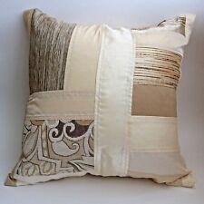 "3pcs/lot throw pillow cover cushion case white beige ivory brown 18x18"" 45x45cm"