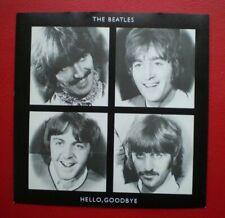 The Beatles ( HELLO GOODBYE ) BRITISH 45 w/ PIC SLEEVE NM/NM  LENNON /McCARTNEY