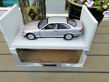 1:18 UT Models BMW E36  328 I Coupe  In Silver Grey Exellent NM  in box