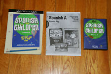 Christian Light Education Spanish A Answer Key Set For Primer A and DVD/ CD Set