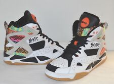 NDS Reebok Pump Blacktop Battleground Tribal Aztec White/Black 12 Men Cant Jump